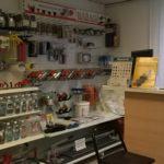 porodej stavební chemie, nářadí a ukončovacích profilů