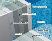 Systém hydroizolace a instalace skleněné mozaiky v bazénech - MAPEI