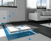 Vysoce estetická pryskyřičná podlahana izolačním systému proti kročejovému hluku - MAPEI