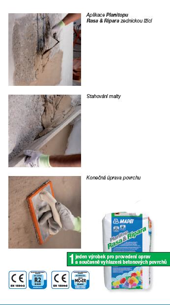 opravy betonu